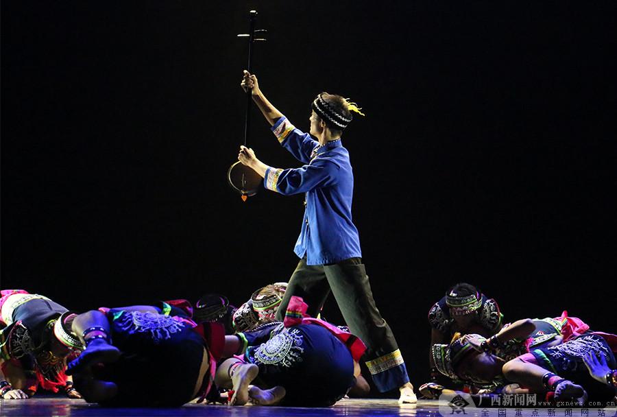 品广西味看壮乡风 广西音乐舞蹈艺术创作好戏连台