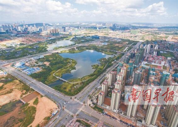 南宁五象新区发展提速 核心区明年将基本成型(图)