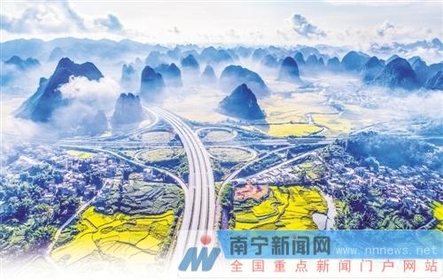 广西公路风景如画  自驾或者骑行去看最美公路