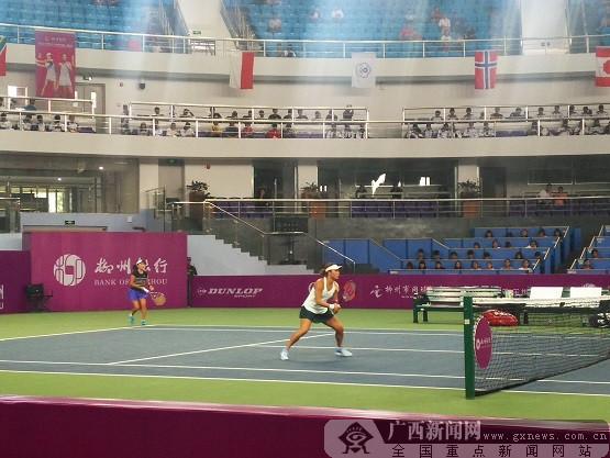 韩馨蕴斩获2017ITF国际女子网球巡回赛双打桂冠