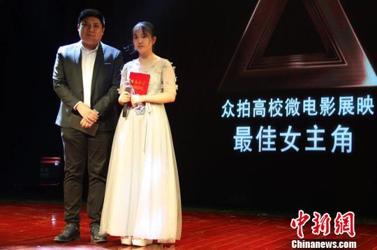 《GIN》的常玉婷获得最佳女主角称号。 李海清 摄