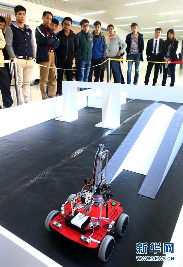 #(科技)(2)天津市举行大学生机器人大赛