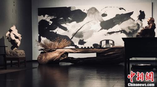 《书斋•追古——中国配资官网 艺术展》亮相国家大剧院