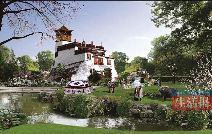 第十二届中国(南宁)国际园林博览会开工建设  预计2018年12月份全面建成开园