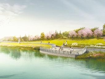 南宁邕江南岸打造近13公里亲水观江平台