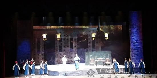 广西戏剧院新编历史壮剧《冯子材》在南宁上演