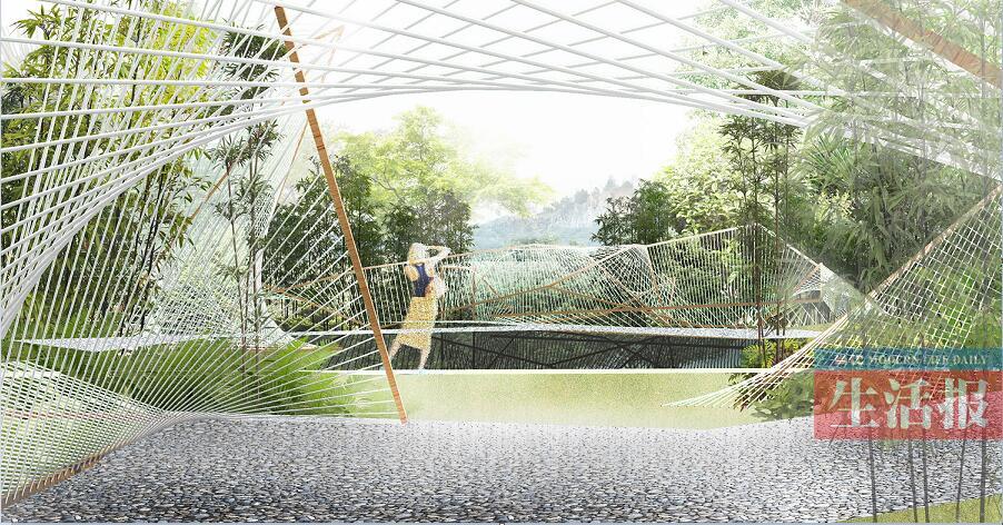 第十二届中国(南宁)园博会开建 展园设计图首秀