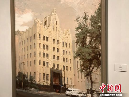 上海外滩百年历史变迁油画作品展在上海开幕