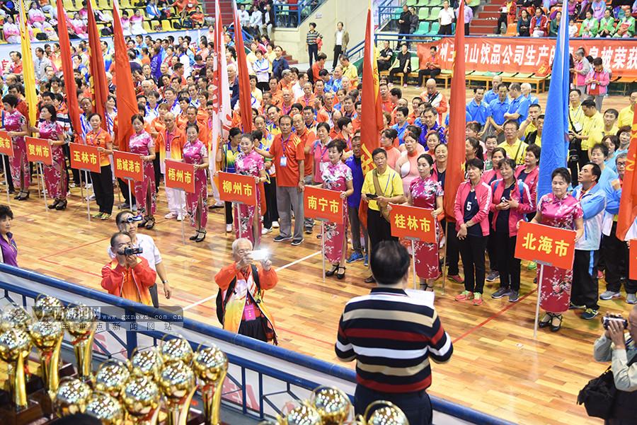 2800余老年人共襄盛会 第七届广西老年人运动会收官