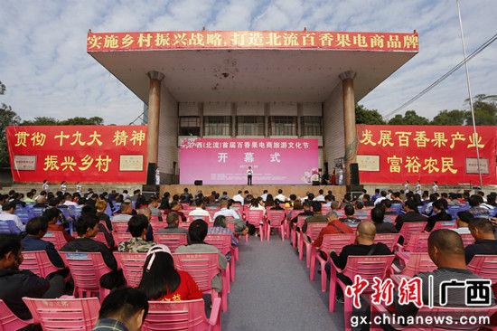 广西北流举办首届百香果电商旅游文化节