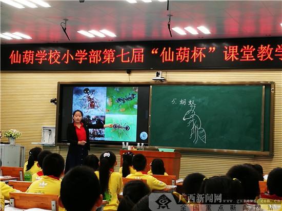 青年教师课堂教学比赛活动教师展风采促成长