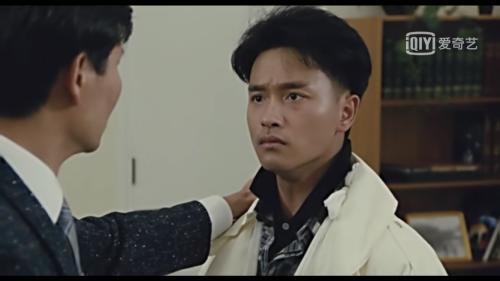 吴宇森遗憾张国荣的角色不够丰满。 图片来源:视频网站截图