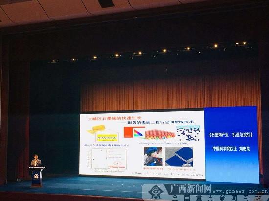中国(广西)石墨烯创新成果研讨会在鹿寨县举行