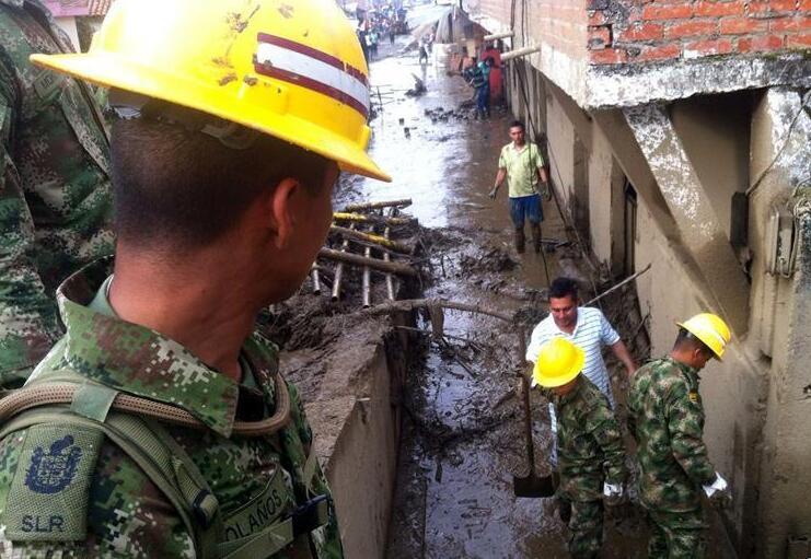 哥伦比亚泥石流造成11人死亡、18人失踪