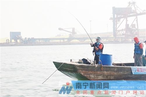 第三届中国-东盟国际海钓大赛在防城港结束争夺