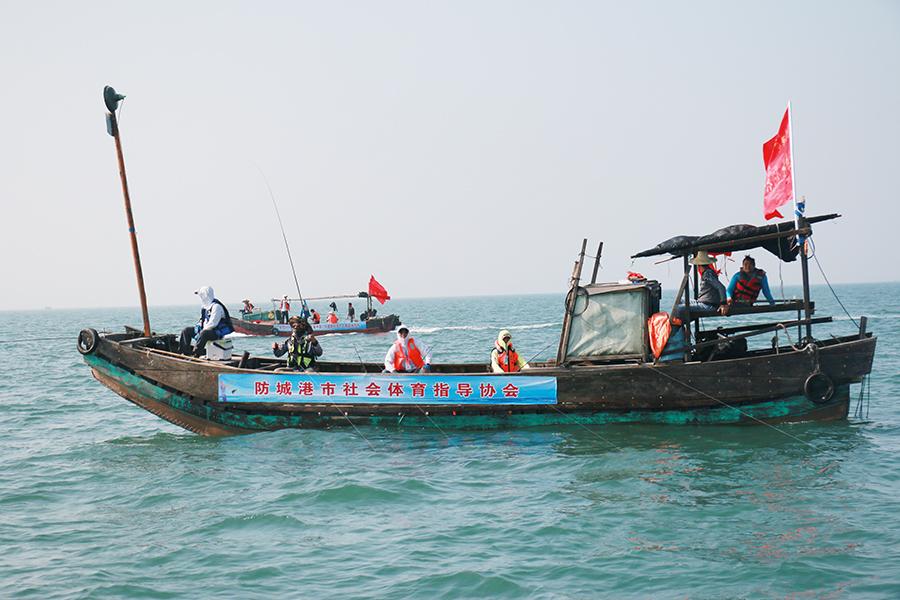 2017年中国―东盟国际海钓大赛收竿 拓海队再度登顶