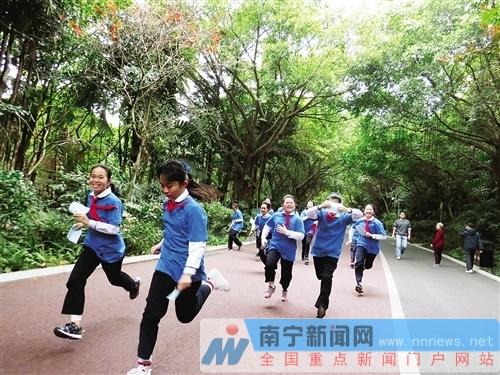 全国首个十大热门跑步公园榜单公布  南宁市南湖公园成功入选