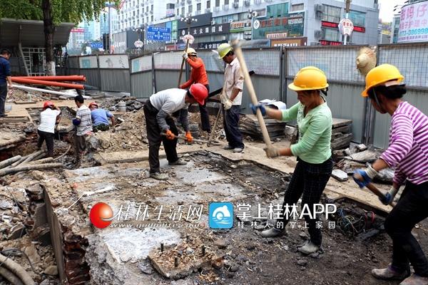 桂林14座人行天桥管线迁移已基本完成