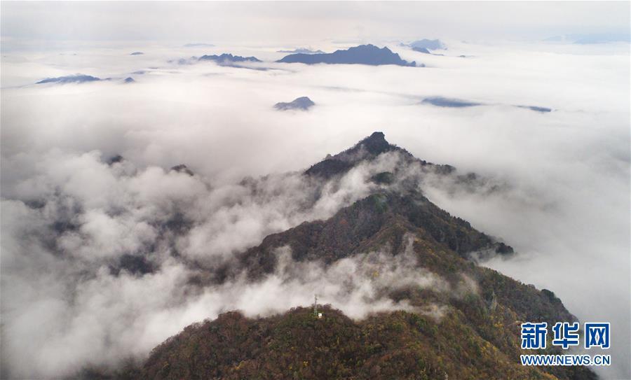 (美丽中国)(1)云雾缭绕南宫山