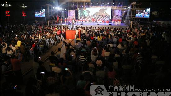 防城区2017文艺周活动圆满落幕