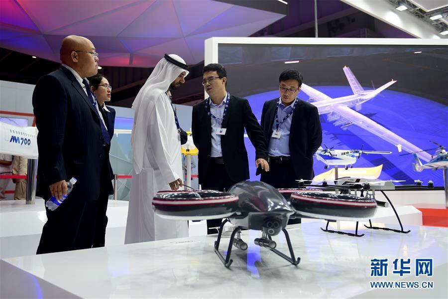 (国际)(1)中国元素闪耀迪拜航展