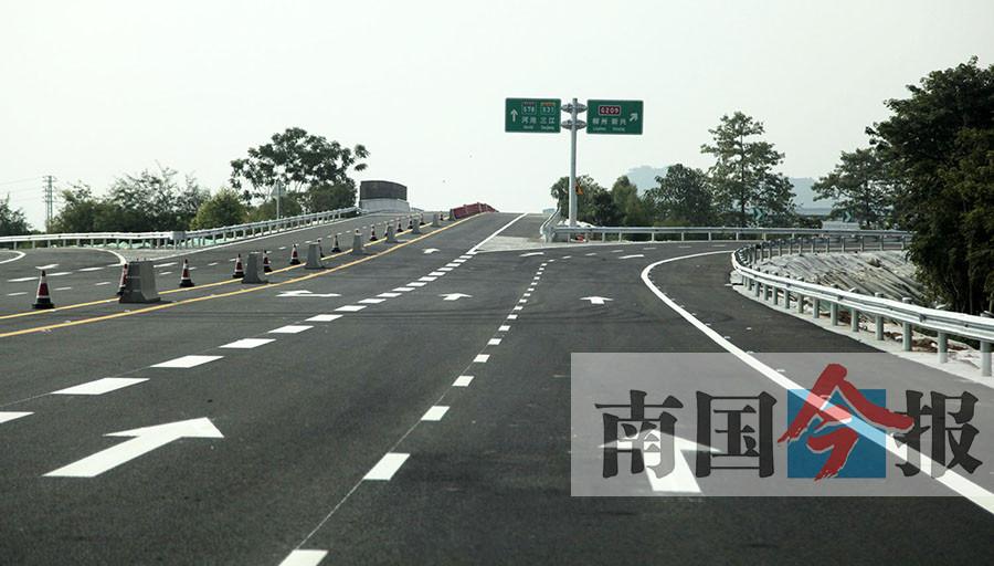 柳南高速易堵 绕行来马高速会增加通行费吗?(图)