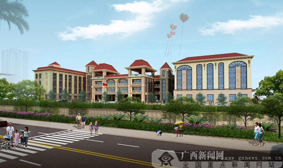 广西教育厅幼儿园建设项目开工 打造我区幼教典范
