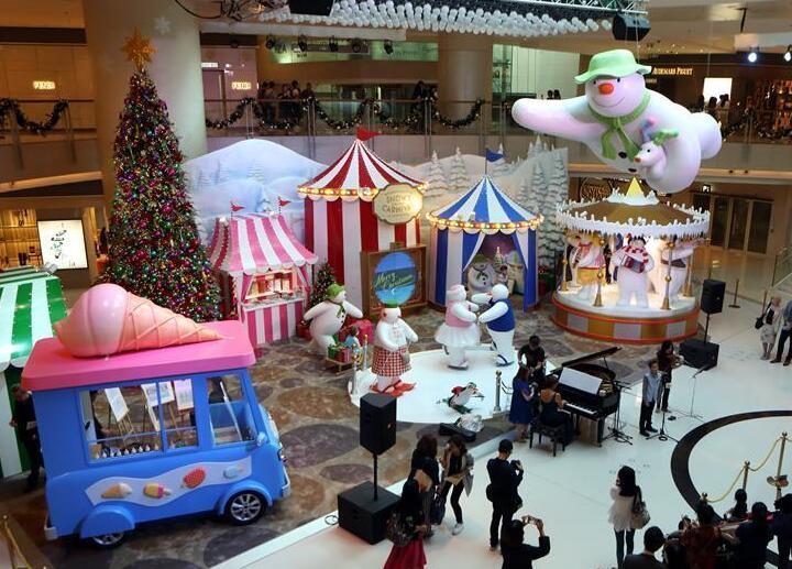 香港圣诞气氛渐浓