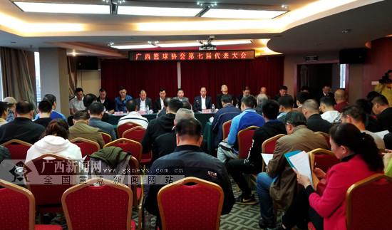 广西篮协完成换届改革 今后大力抓青少年篮球培训