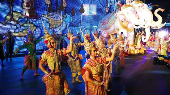 2018神奇泰国旅游年开幕 主题活动精彩纷呈