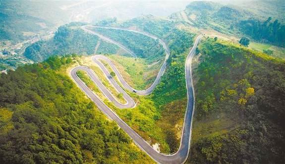 """[领航新征程]重庆这个小山村如何修出""""最美乡村公路"""""""