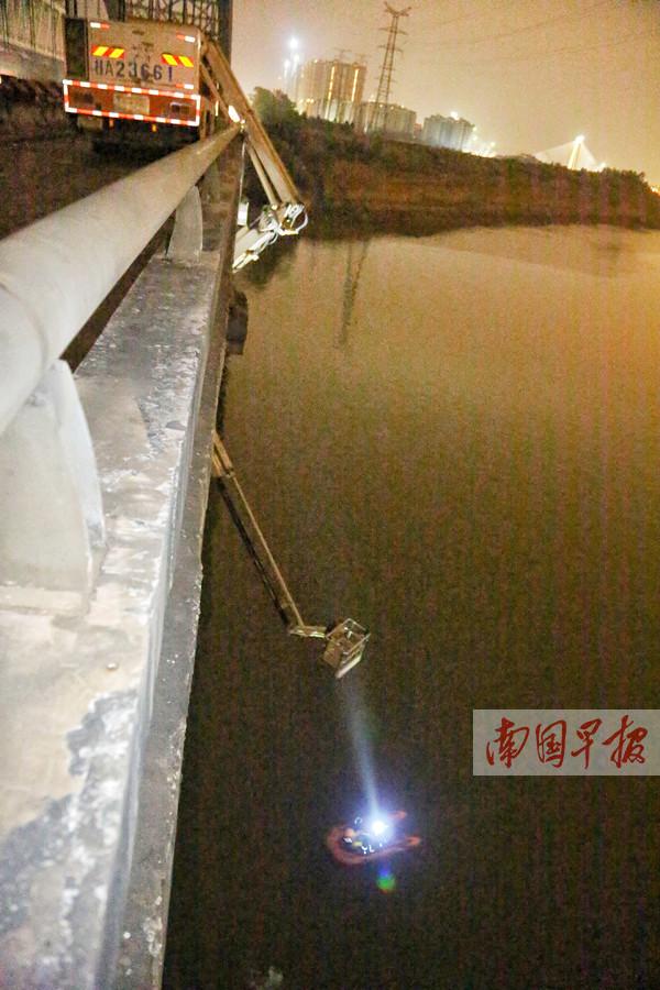11月22日焦点图:南宁桥梁检测发生事故3人坠江