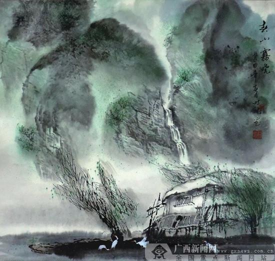 让水墨漓江走进世界艺术之林