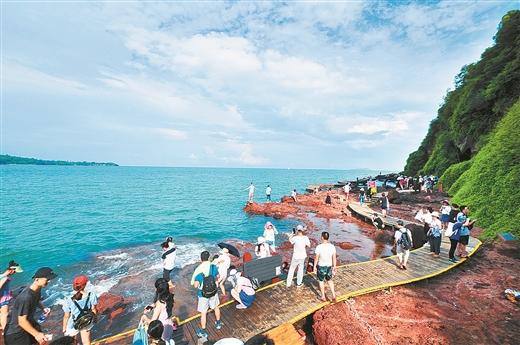 """看涠洲岛旅游区如何推进""""广西特色旅游名区""""创建"""