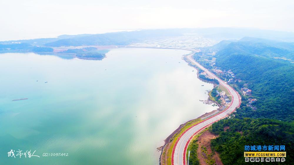 《鸟瞰防城港》:航拍江山半岛环岛东路全海景公路