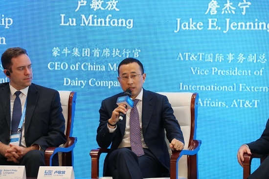 蒙牛CEO卢敏放:传统企业搞网络扶贫赢在精准