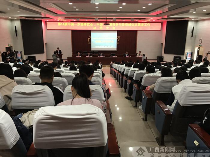 """第14届中国―东盟""""两会""""志愿者工作总结大会召开"""
