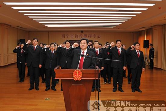 南宁市法院国家宪法日多种形式开展宣传活动