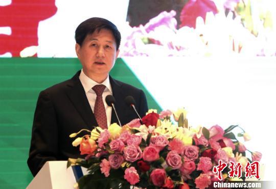 国家旅游局副局长王晓峰致辞 林浩 摄