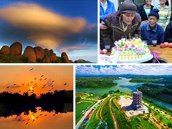 高清组图:广西五皇山下是寿乡