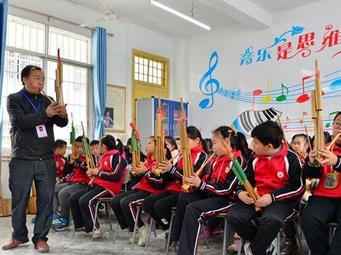广西三江:侗族金沙国际娱乐官网进课堂