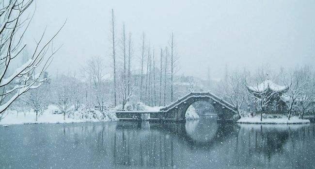 """全国降温开启""""速冻""""模式 文人墨客笔下的冬天有多冷?"""