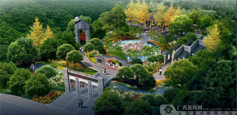 第十二届园博会展园提前看:成都园与武汉园(图)