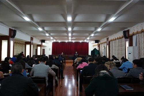 广西科协举办党员干部意识形态工作教育培训班