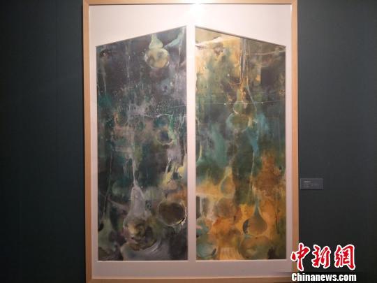 中国美术家协会水彩画艺术委员会年度提名展14日在广东东莞莞城美术馆开幕。图为展出的水彩画 李映民 摄