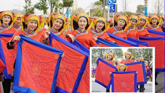 贺州:瑶族女子展现世界唯一的女性文字