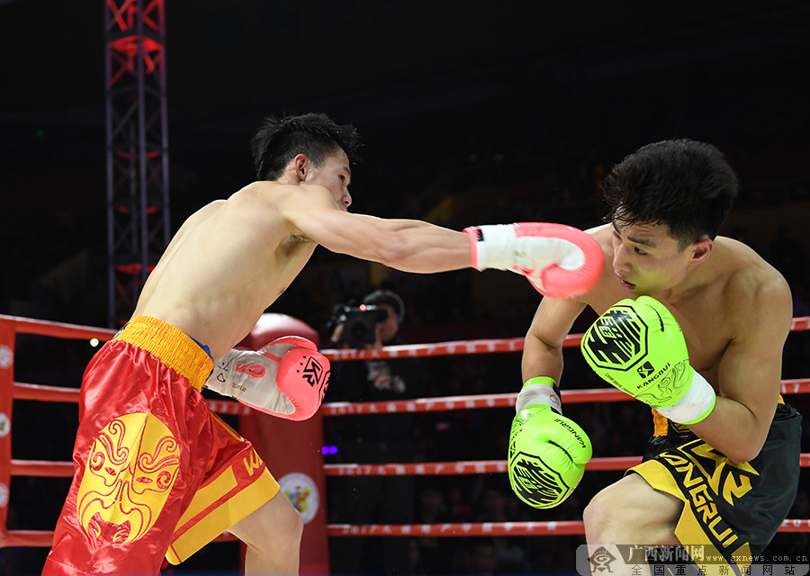 2017中国拳王赛南宁第三站落幕 广西拳手双双告捷