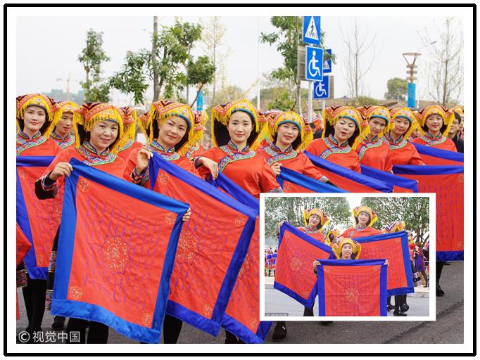 贺州:瑶族女子展现世界唯一的女性文字(组图)