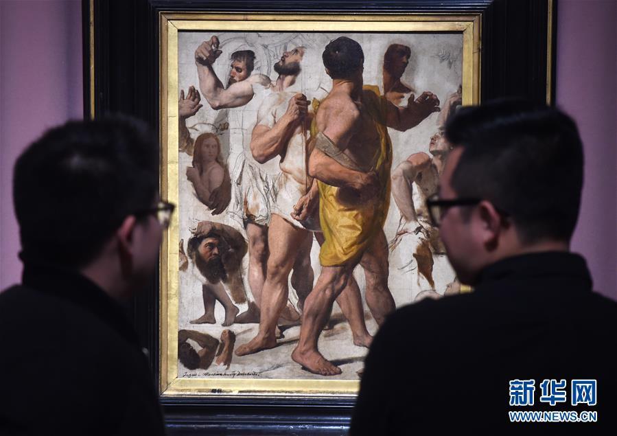 (文化)(4)法国新古典主义画家安格尔作品亮相北京