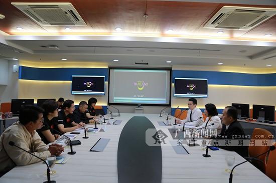 2017中国—东盟汽车拉力赛车队抵达泰国